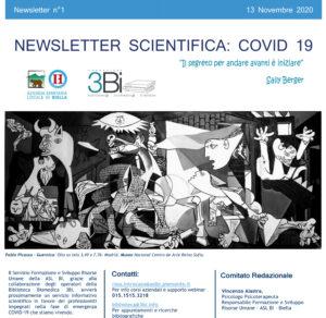 Estratto dal primo numero della Newsletter scientifica redatta dalla S.S. Formazione e Sviluppo Risorse Umane dell'ASL di Biella, dedicata all'approfondimento medico delle tematiche inerenti il COVID-19